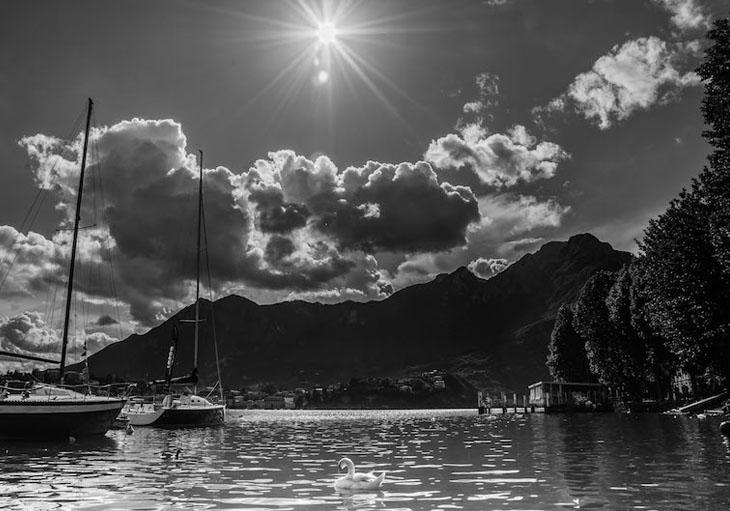 """1° premio categoria """"ResegUp 2016 – il lago, la città, i monti, il percorso"""" - foto di Silvia Zecchini"""